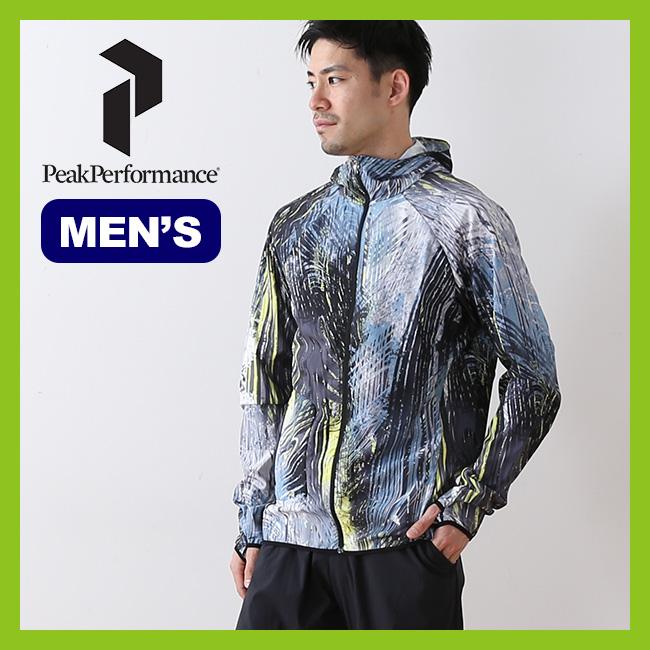 ピークパフォーマンス フレモントプリントジャケット PeakPerformance Fremont Print Jacket アウター ジャケット ランニング トレラン スポーツ アウトドア メンズ 男性 <2018 春夏>