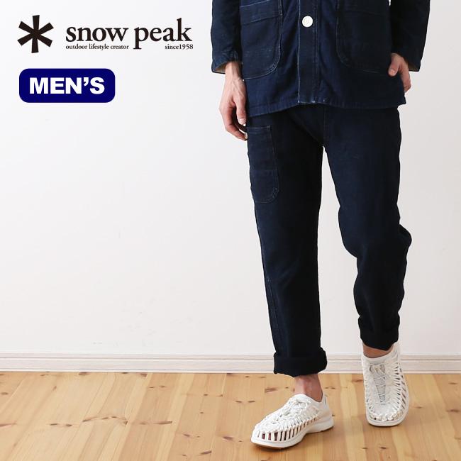 スノーピーク ノラギパンツ snow peak Noragi Pants ウェア ボトムス ロングパンツ 野良着 メンズ アウトドア キャンプ <2019 春夏>