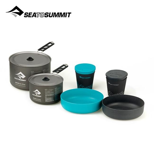シートゥサミット アルファクックセット2.2 SEA TO SUMMIT Alpha COOKSET 2.2 ST84608 クッカー アウトドア 調理器具 <2020 春夏>