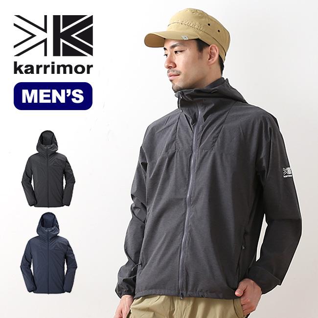 カリマー ベクターフーディー(ヘザー) karrimor vector hoodie (heather) メンズ フーディ ジャケット シェルジャケット <2018 春夏>