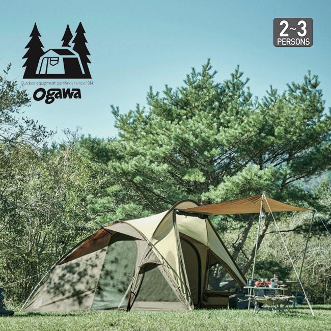 オガワ ヴィガス OGAWA Vigas テント ロッジドーム キャンプ アウトドア 宿泊 2~3人用 2664 <2019 春夏>