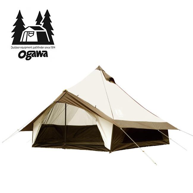 オガワ グロッケ12 T/C OGAWA Gloke T/C テント キャンプ アウトドア 焚き火 宿泊 5~6人用 ベル型テント 2785 <2019 春夏>