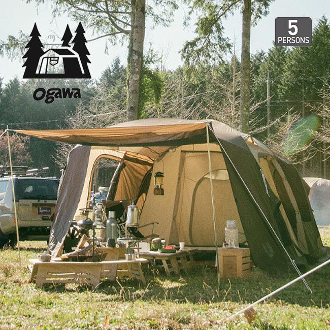 オガワ ティエララルゴ OGAWA Tierra Largo テント キャンプ アウトドア 宿泊 5人用 大型 <2018 春夏>
