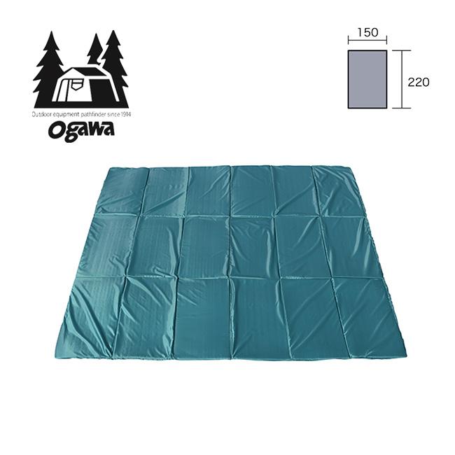 オガワ グランドマット1522 OGAWA テントアクセサリー テント アウトドア キャンプ シート マット クッション 宿泊 3845 <2019 春夏>
