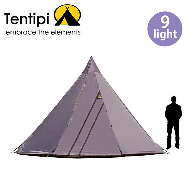 テンティピ オニキス9ライト Tentipi Onyx 9 light テント キャンプ アウトドア 宿泊 ティピー <2018 春夏>