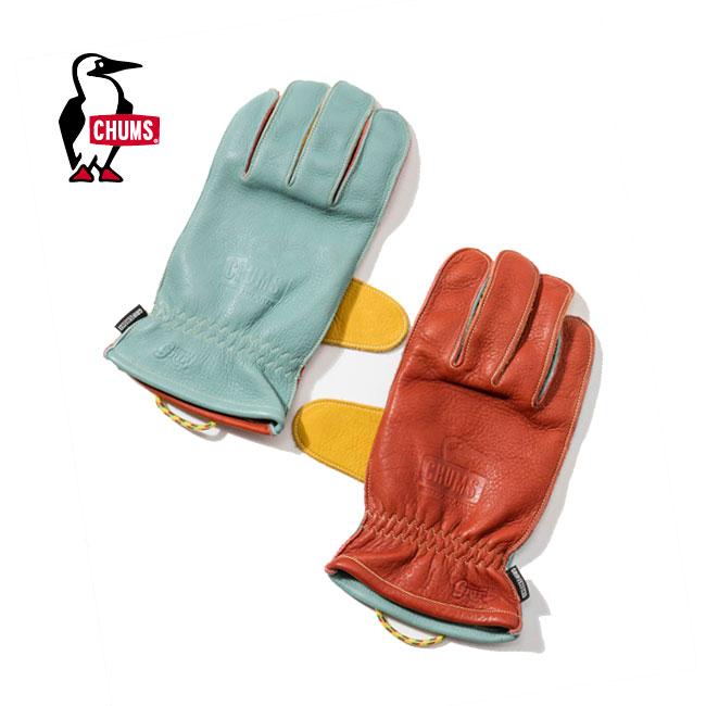 グリップスワニー×チャムス グローブ GripSwany×CHUMS Glove レザーグローブ グリルグローブ <2018 春夏>