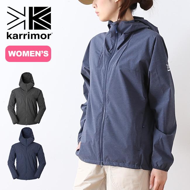 カリマー ベクター ウィメンズ フーディー ヘザー karrimor vector W's hoodie heathe ジャケット パーカ アウター ウィンドブレーカー ウィンドジャケット <2018 春夏>