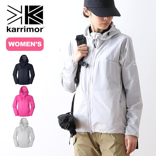 カリマー ベクター ウィメンズ フーディー karrimor vector W's hoodie ジャケット アウター パーカ ウィンドシェル ウィンドジャケット 女性 <2018 春夏>