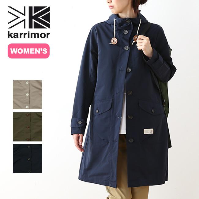 カリマー ハリントン【ウィメンズ】コート karrimor harrington W's coat レディース ハリントン コート アウター ジャケット トラベルコート <2018 春夏>