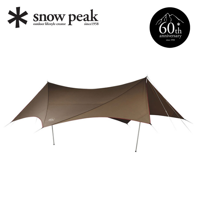 スノーピーク 60周年記念 ヘキサエヴォ Pro. snow peak テント タープ アウトドア キャンプ 宿泊 TP-265 <2018 春夏>