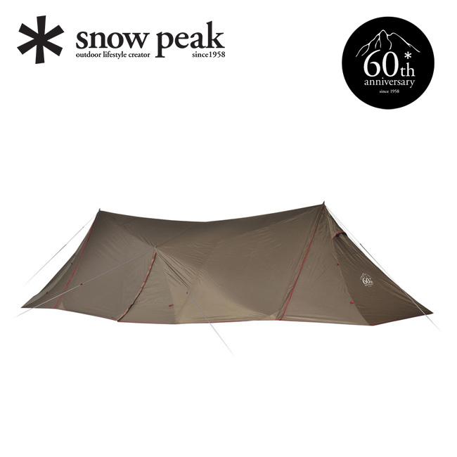 スノーピーク 60周年記念 ランドステーション Pro.L snow peak テント タープ 大型 アウトドア キャンプ 宿泊 TP-825 <2018 春夏>