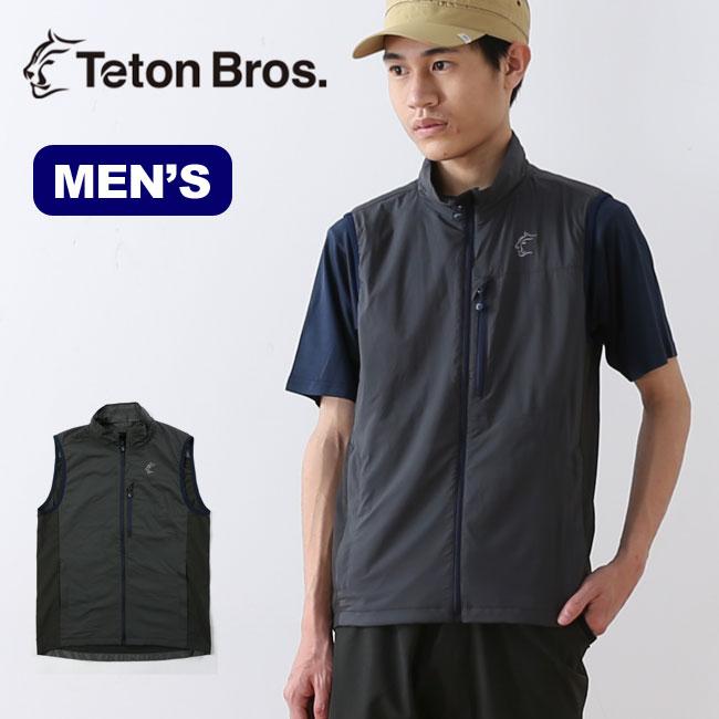 ティートンブロス アルファベスト TetonBros Alpha Vest メンズ アウター <2018春夏>
