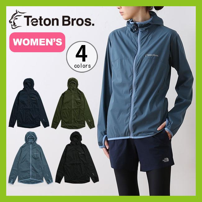 ティートンブロス ウインドリバーフーディー 【ウィメンズ】TetonBros アウター ジャケット 女性 <2018 春夏>