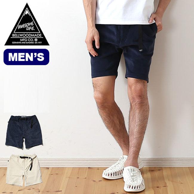 ベルウッドメイド オーサムショーツ スタンダードサマーコーデュロイ BELLWOODMADE メンズ ショートパンツ パンツ ボトムス 半ズボン <2018 春夏>
