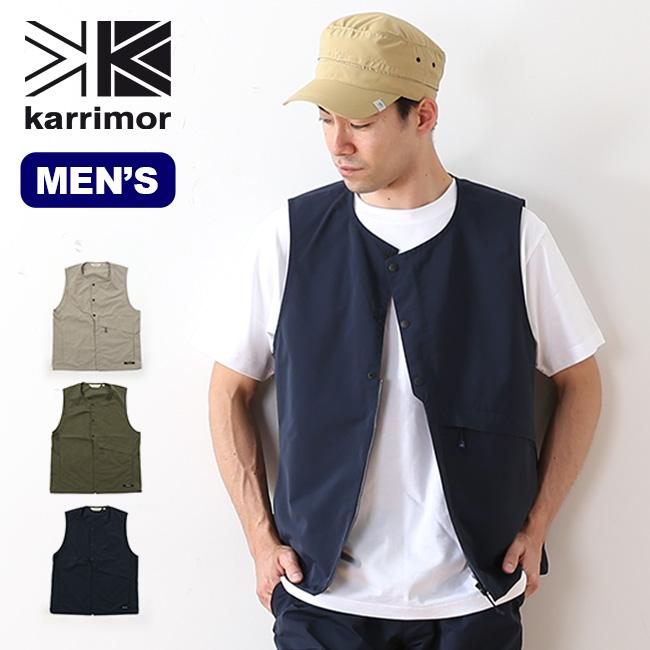 カリマー ハリントンベスト karrimor harrington vest メンズ ハリントン ベスト 中間着 アウター <2018 春夏>