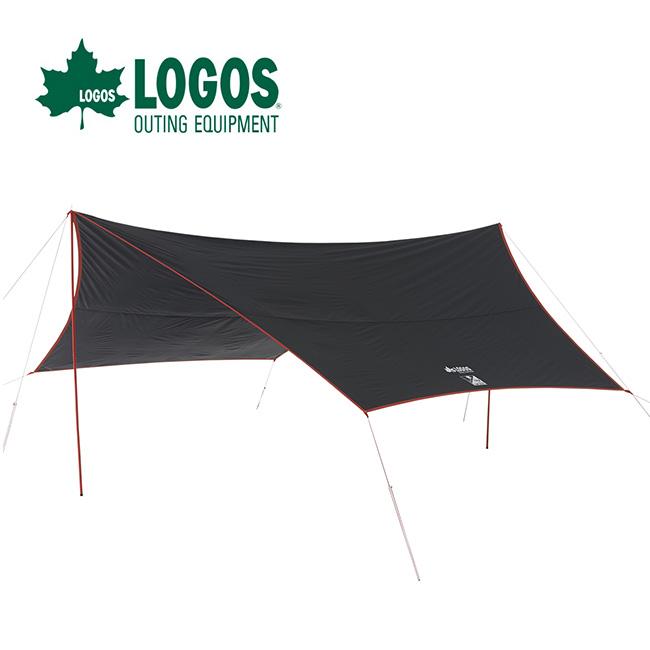 ロゴス Black UV ヘキサ5750-AG LOGOS タープ <2018 春夏>