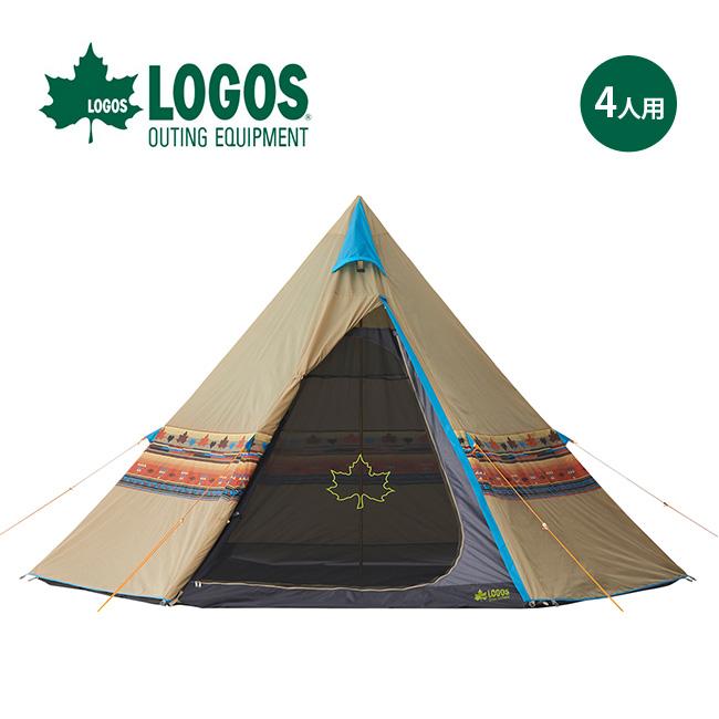 ロゴス LOGOS ナバホTepee 400 LOGOS テント ティピ― ティピーテント ワンポールテント <2018 春夏>