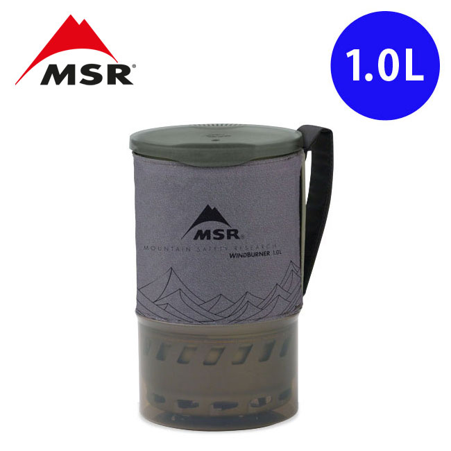 エムエスアール ウィンドバーナー アクセサリーポット1.0L MSR クッカー キャンプ アウトドア <2020 春夏>