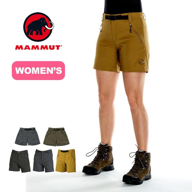 マムート トレッカーズショーツ【ウィメンズ】 MAMMUT TREKKERS Shorts Women レディース ボトムス パンツ ショーツ <2018 春夏>