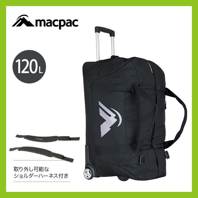 マックパック ウィールドダッフル120 MACPAC Weeled Duffel 120L ダッフルバック ローラー付き 大型 120L <2018 春夏>