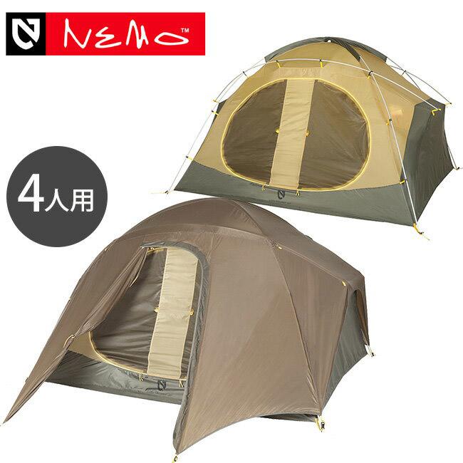 ニーモ ロシストーム 4P NEMO LOSI STORM® 4P テント キャンピングテント 4人用 NM-LSST-4P-CY <2019 春夏>