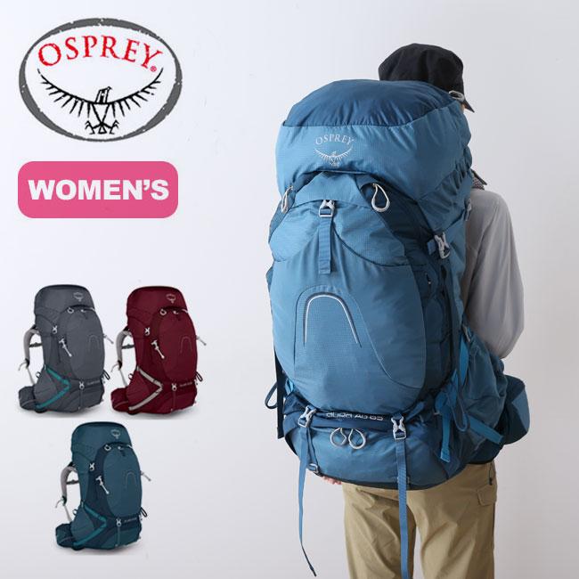 オスプレー オーラAG 65 OSPREY リュックサック バックパック ザック 女性用 レディース <2018 春夏>