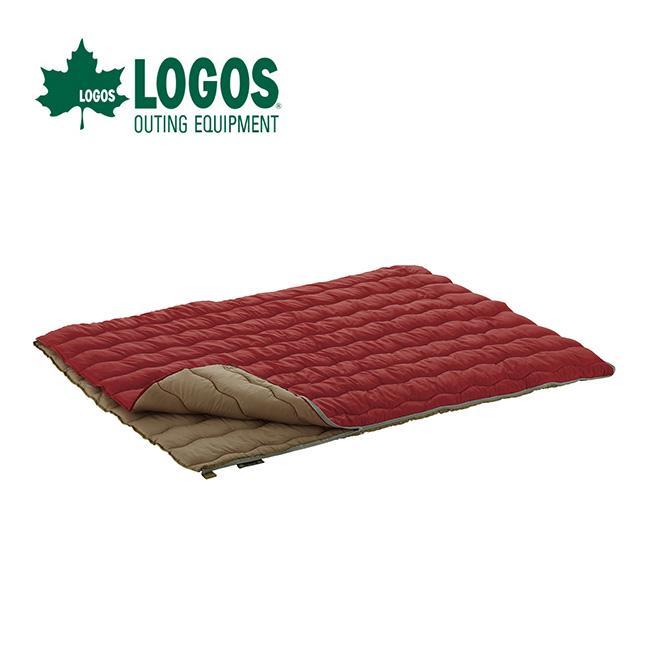 ロゴス 2in1・Wサイズ丸洗い寝袋・0 LOGOS シュラフ 寝袋 封筒型 スリーピングバッグ セット <2018 春夏>