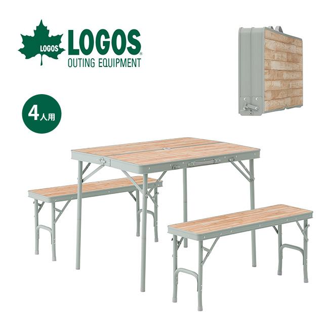 激安ブランド ロゴス LOGOS Life ベンチテーブルセット4 椅子 LOGOS ベンチ テーブル 椅子 ベンチ イス テーブル テーブルセット 4人用 <2018 春夏>, ミュージックフォリビング:96bb711a --- canoncity.azurewebsites.net