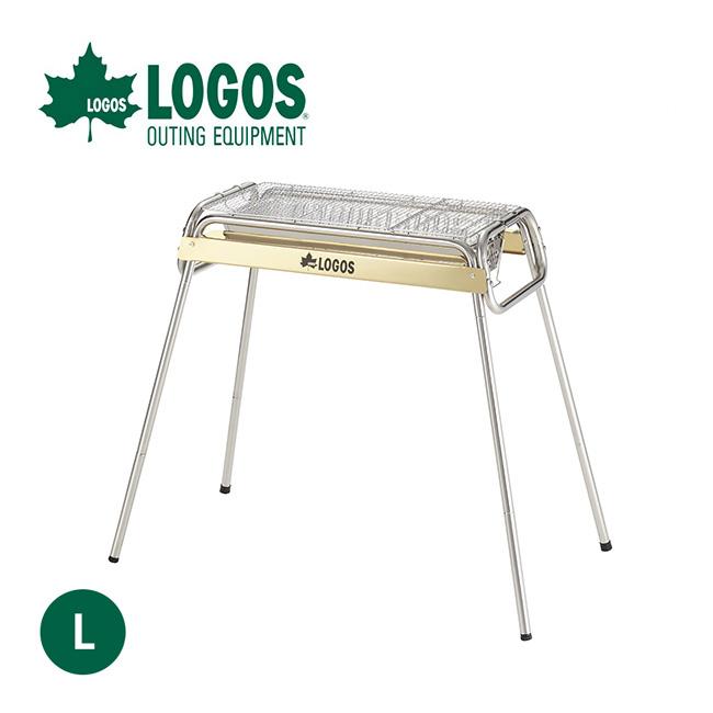 ロゴス eco-logosave チューブラル/G80L LOGOS グリル 焼網 鉄板 料理 アウトドア キャンプ バーベキュー <2018 春夏>