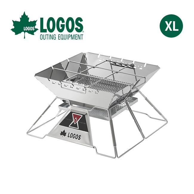 ロゴス LOGOS The ピラミッドTAKIBI XL LOGOS 焚火台 グリル 調理器具 串焼き ダッチオーブン アウトドア キャンプ バーベキュー <2018 春夏>