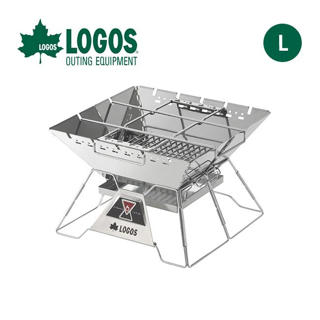 ロゴス LOGOS The ピラミッドTAKIBI L LOGOS 81064162 焚火台 グリル <2019 秋冬>