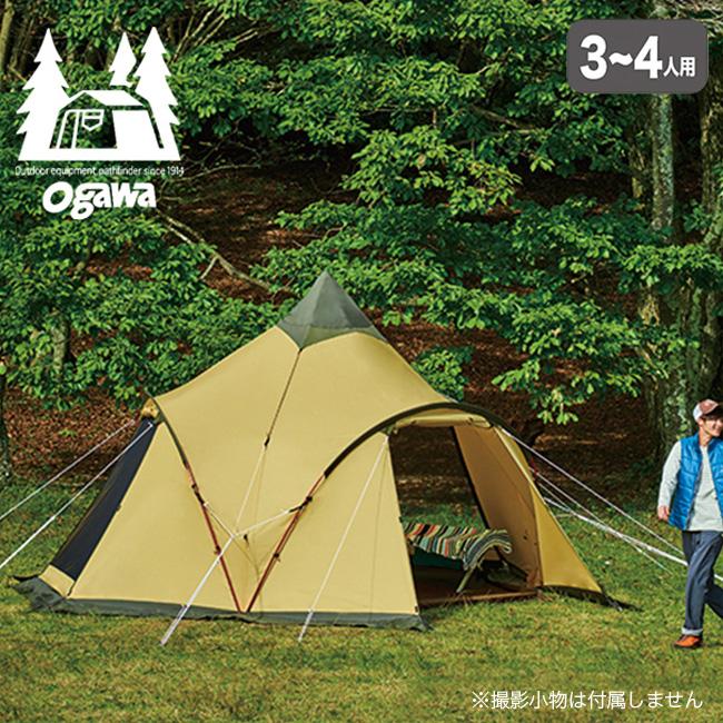 オガワ トレス OGAWA TRES テント ドーム 4人 キャンプ アウトドア 宿泊 <2018 春夏>