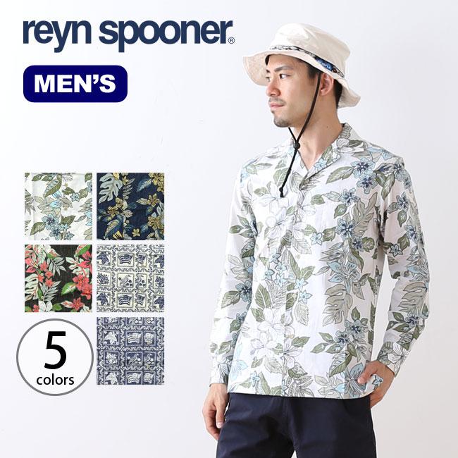 レインスプーナー LSオープンカラーシャツ Reyn Spooner shirt メンズ <2018 春夏>
