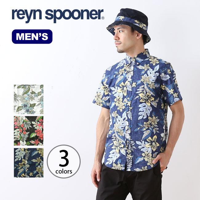 レインスプーナー SSB.D.シャツ Reyn Spooner shirt メンズ 半袖シャツ <2018 春夏>