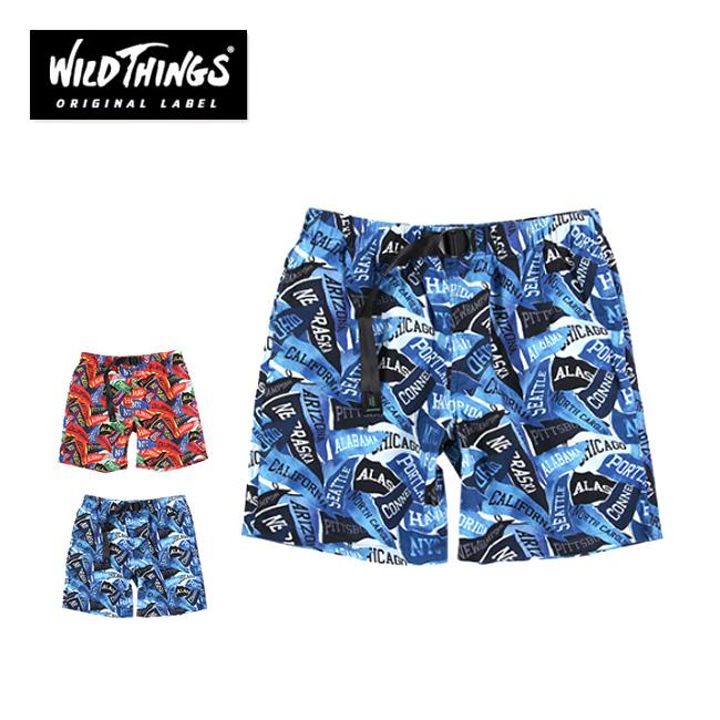 ワイルドシングス ペナントクライミングショーツ  WILD THINGS ショートパンツ 男性 メンズ PENNANT CLIMBING SHORT