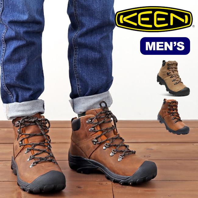 キーン ピレニーズ KEEN PYRENEES メンズ 靴 トレッキングシューズ ブーツ ミッドカット 登山靴 防水 <2018 秋冬>