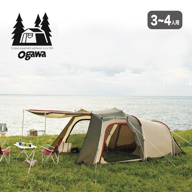 オガワ ポルヴェーラ34 OGAWA Polvera34 テント キャンプ アウトドア 宿泊 3~4人 ドーム コンパクト 2770 <2019 春夏>