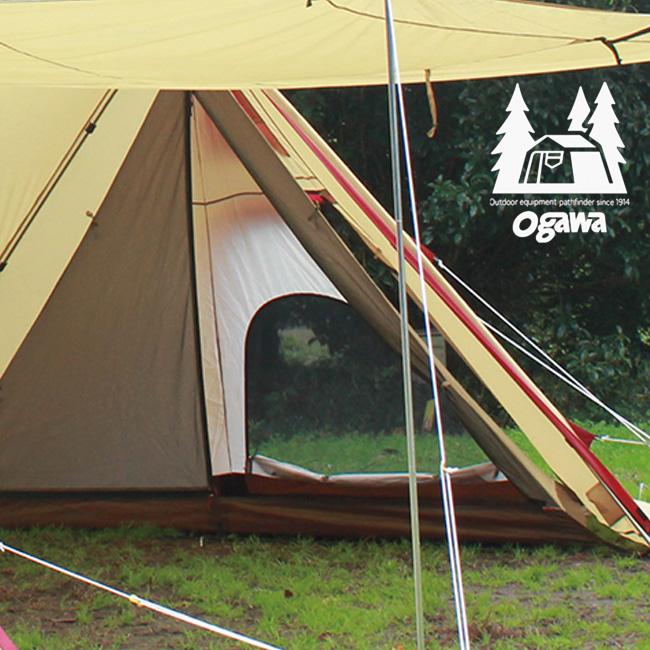 オガワ ツインピルツフォークハーフインナー OGAWA テント テントアクセサリー インナーテント 寝室 宿泊 アウトドア キャンプ <2018 春夏>