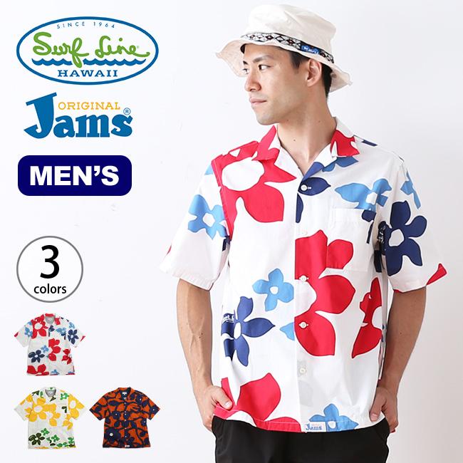 オリジナルジャムズ オープンカラーシャツ ORIGINALJams メンズ シャツ 襟シャツ 半袖 アロハシャツ カラーシャツ <2018 春夏>