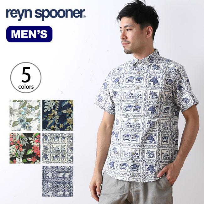 レインスプーナー SS レギュラーカラーシャツ Reyn Spooner 半袖シャツ メンズ <2018 春夏>