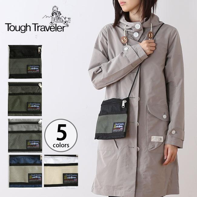 タフトラベラー ラージポーチ ウィズ メッシュポケットTough Traveler Large Pouch With Mesh Pocket  ポーチ サコッシュ <2018 秋冬>
