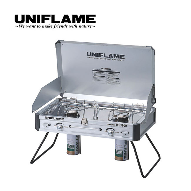 UNIFLAME ユニフレーム ツインバーナー US-1900 <2018 春夏>