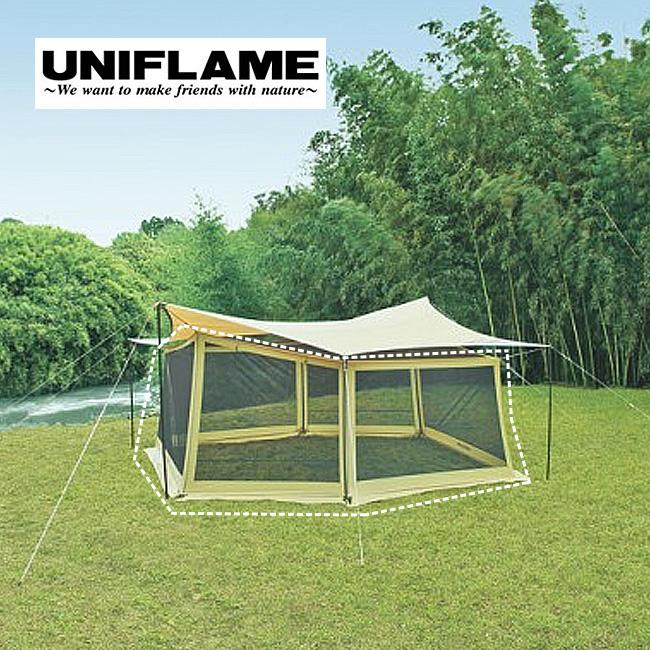 UNIFLAME ユニフレーム REVO メッシュウォール L <2018 春夏>