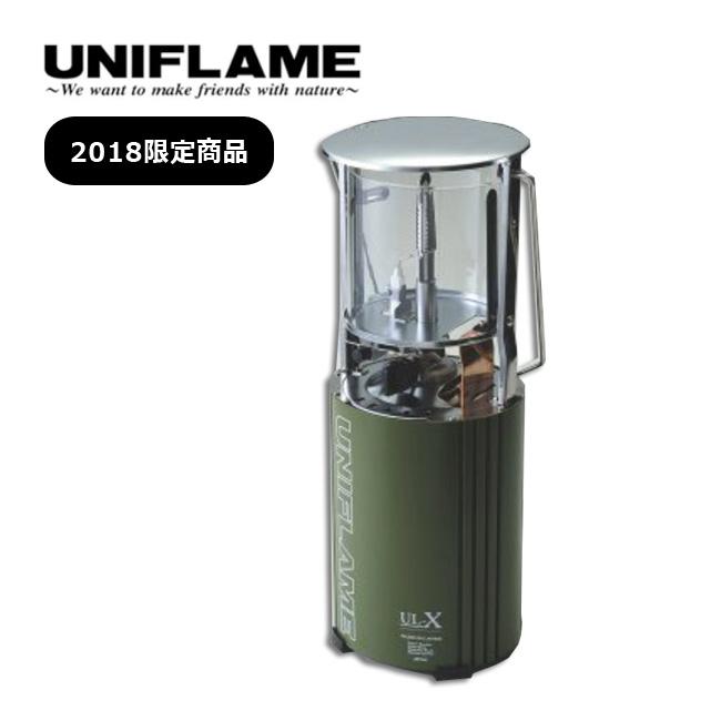 ユニフレーム フォールディングガスランタン UL-X カーキ UNIFLAME ランタン 2018 限定商品 <2018 春夏>