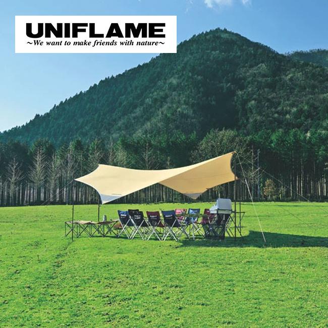 UNIFLAME ユニフレーム REVOタープ 600 <2018 春夏>