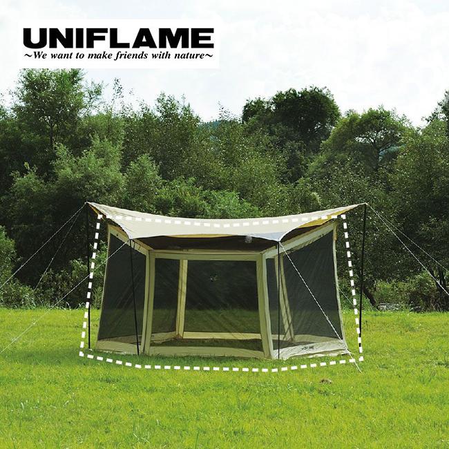 UNIFLAME ユニフレーム REVOメッシュウォール M <2018 春夏>