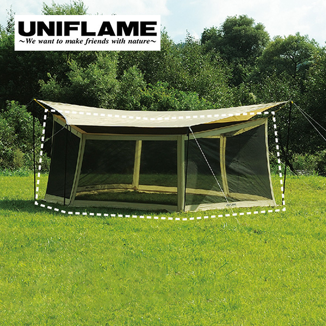 UNIFLAME ユニフレーム REVOメッシュウォール 600 <2018 春夏>