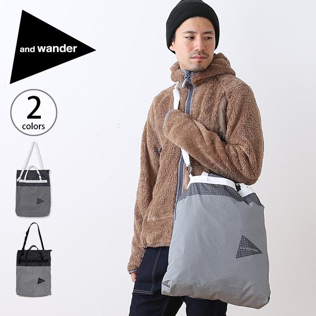 アンドワンダー グリッドクロススタッフサック and wander grid cloth stuffsack 鞄 バッグ ナップサック ショルダーバッグ sp18fw