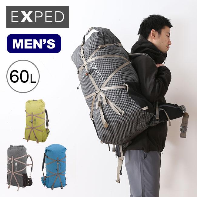 エクスペド ライトニング60 メンズ EXPED Lightning60 Mens メンズ リュックサック ザック バックパック 鞄 <2019 春夏>