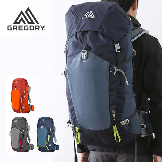 グレゴリー ズール40 GREGORY ZULU 40 リュック ザック リュックサック バックパック 登山用ザック 40L <2018 秋冬>